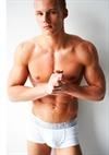 Sporty Muscular Male Model