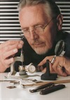 Male Model Fixing A Watch