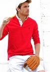 Male Holding Baseball Gear