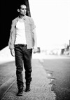 Male Model Walking Down The Street