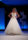 bridal wedding gown model