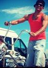 Male On A Bike